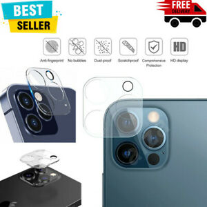 3D Camera Lens For iPhone 13, 12, 11 Pro MAX Case Protector Tempered Glass Cover