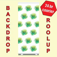 85/100cm back drop Roller Banner Print Pull Up POP Up Exhibition Stand