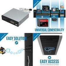Sabrent 74-in-1 3.5-Inch Internal Flash Media Card Reader/Writer with Black