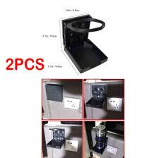 2x Car or Household Folding Beverage Bottles Cup Holders For Car Truck VAN Boat