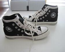 Black & White Converse Chuck Taylor Shoes Women's 7 Mens 5 Double Layer
