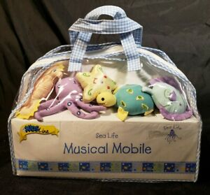 NEW KIDS LINE SEA LIFE MUSICAL MOBILE BRAHMS LULLABY  FREE SHIPPING