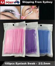 Micro Brush Disposable Extension Make up Stick Eyelash Applicator Mascara Wands