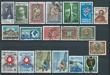 1963 ITALIA USATO ANNATA 19 VALORI - ED05
