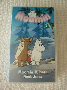 Vintage Moomin VHS Video Tape 1990