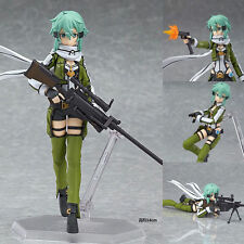 "Anime Sword Art Online II Asada Shino Sinon 15cm/6"" Figma 241 PVC Action Figure"