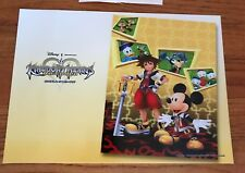 Kingdom Hearts Re:coded Official Promotional Mini Poster 2010 Square Enix DS RPG