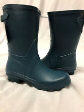 a.n.d  A New Day Women's Samantha Mid Calf Rain Boots Turquoise Size 11