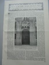 1905 63 Bankhaus Homburger in Karlsruhe ...ohne Bericht