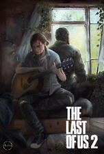 """033 The Last of Us 2 - Part II Ellie Zombie Survival Horror Game 14""""x20"""" Poster"""