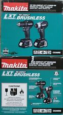 BRAND NEW Makita LXT CX200RB Combo Set - Brushless Compact Drill / Impact Wrench