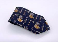 Tie Rack Tie Black Brown Gray Polka Dot Paris Silk 59 x 4 Italy 1800 Ties 4 Sale