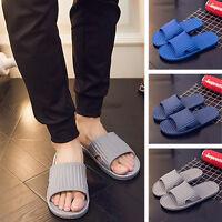 Mens Slip On Sport Slide Sandals Flip Flop Shower Shoes Slippers House Antiskid