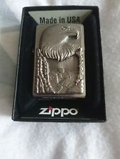 EAGLE GRAND CANION ZIPPO LIGHTER   NEW WITH BOX COMPLETE WITH GAURUNTEE.