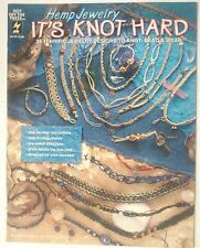 HEMP JEWELRY JEWELLERY ITS KNOT HARD NECKLACE EARRING CHOKER BEAD KNOT BRACELET