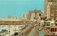 Atlantic City New Jersey NJ boardwalk Postcard