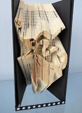 Book Folding PATTERN Cut and Fold, Zero the Dog, Nightmare before Christmas