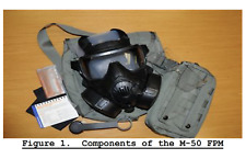 250 Page M50 Field Protective Mask Cbrn Ppe Training Studies Instructions on Cd