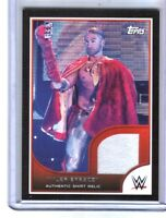 WWE Tyler Breeze 2016 Topps RTWM Event Used Shirt Relic Card SN 135 of 350