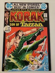 Korak Son of Tarzan #47. DC. Aug 1972. NM- 9.2 or UP! 2nd DC. KALUTA / KUBERT