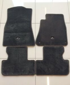 LEXUS Genuine IS250/IS350 Carpet Floor Mat Set - Charcoal, Automatic 2005-2013