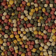 KOIFUTTER 15 kg Sack **4 Sorten Mix** Multi Colors / Fischfutter Pelletgröße 6mm