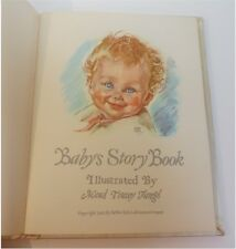 ADORABLE VINTAGE BABY MEMORY KEEPER ILLUSTRATED MAUD TOUSEY FANGEL 1941 CRAFTERS