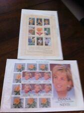 Princess Diana Collection Stamps 1997