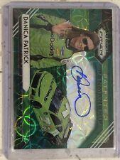 2020 Panini Prizm Racing Danica Patrick Autograph /50 Green Scope Parallel Auto
