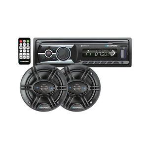 98-13 Harley Davidson Cycle Blaupunkt Stereo Radio Bluetooth USB 6.5'' Speaker