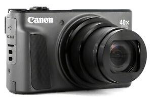 NEW Canon PowerShot SX730 HS WiFi 20.3MP 40x Optical Zoom Digital Camera - Black