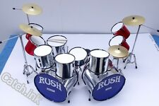 DRUM SET DRUM KIT DOUBLE BASS MINIATURE REPLICA FOR DISPLAY ONLY
