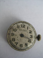 Vintage mens Sindaco 30's-40's mechanical watch movement  for parts