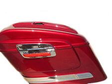 Mutazu HL Burgundy Red Hard Saddlebags fits YAMAHA  V STAR 650 1100 1300 950