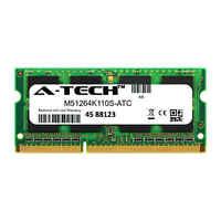 4GB DDR3 PC3-12800 1600MHz SODIMM (Kingston M51264K110S Equivalent) Memory RAM