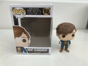 Funko Pop - Newt Scamander - Fantastic Beasts And Where To Find Them #02