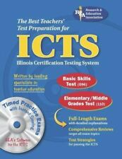 ICTS (REA) w/CD ROM - The Best Test Prep for the IL Certification Testing System