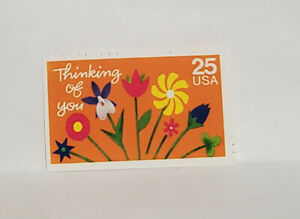 Scott #2397 - One 25 Cent Stamp - Special Occasion - Thinking of You - OG  - MNH