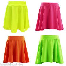 Girls Kids Skirts Skater Skirt School Party Age 7 8 9 10 11 12 13