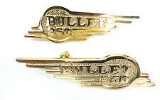 Royal Enfield 350cc Werkzeugkasten Embleme messingfarben