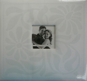 12'X12' Wedding Post Bound Scrapbook Album White - Crafty Koala
