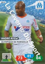 OM-09 ANDRE AYEW # GHANA MARSEILLE CARD ADRENALYN FOOT 2014 PANINI