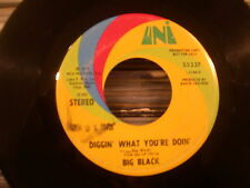 "Big Black-Mellow Diggin' What You're Doin' 7""-UNI LABEL SOUL-RARE!!!!!!!!!!!!!!!"