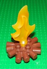 LEGO - Duplo Camp Fire - Brown w/ Orange Flame
