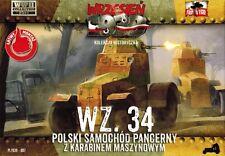 WZ.34 POLISH ARMOURED CAR W/MACHINE GUN (SEPTEMBER 1939 MKGS) 1/72 F2F
