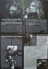 Ordo Rosarius Equilibrio ___ raccolta/Collection ___ 4 pagine/Pages