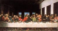 "Dream-art Oil painting Leonardo da Vinci The last supper Christ & Christians 36"""