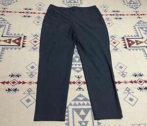 Nike Golf Dri Fit Women's Flex Woven Golf Pants black Sz L 929513 010 D7
