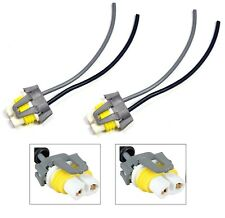 Wire Pigtail Female Ceramic C H11 Two Harness Head Light Low Beam Socket Bulb OE