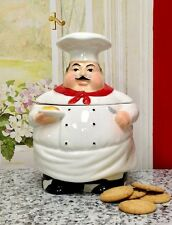 Chef's Cookware Cookie Jar 88976 By Ack Bar Kitchen New Dining Home Fast Shi